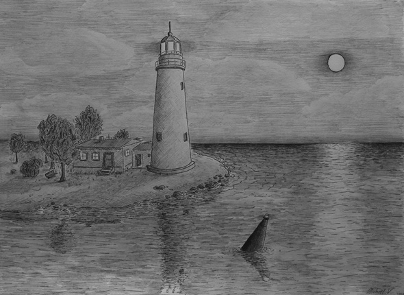 Drawn sky pencil drawing How Sky pencil Step Draw