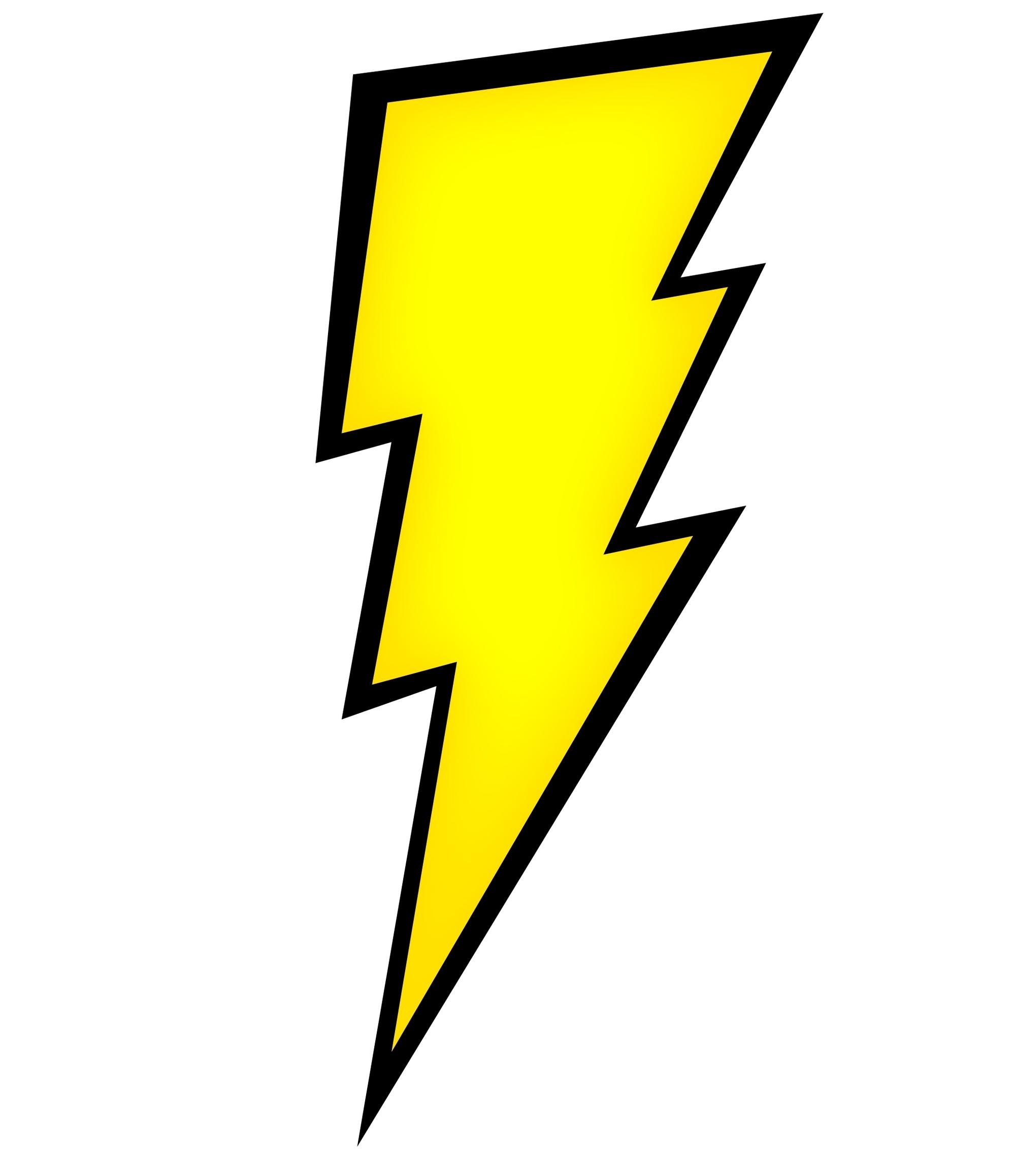 Thunder clipart lightning bolt Of lightning Collection Clipart Black