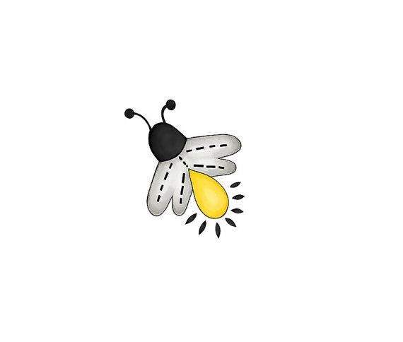Bugs clipart lightning bug This Hand Fireflies bugs JPG
