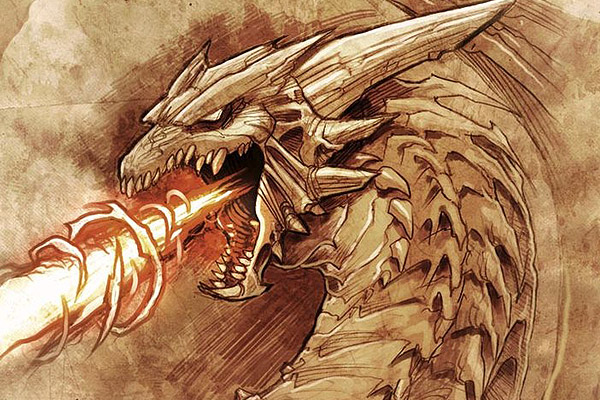 Drawn 3d art epic Dragon  45 breath beam