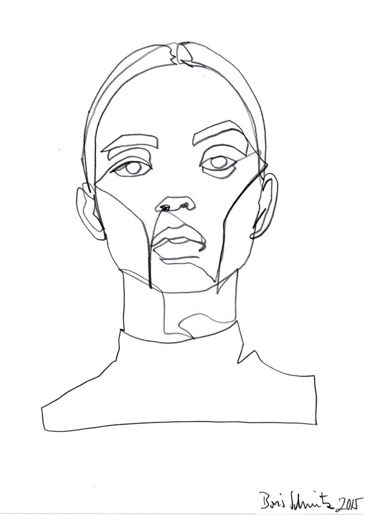 "Drawn line art 324″ ""Gaze Line Pinterest borisschmitz:"