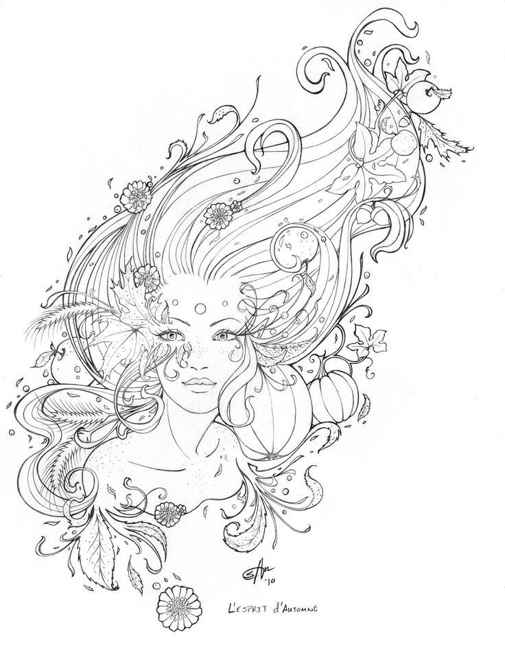 Drawn line art Art Line art L'Esprit Drawing