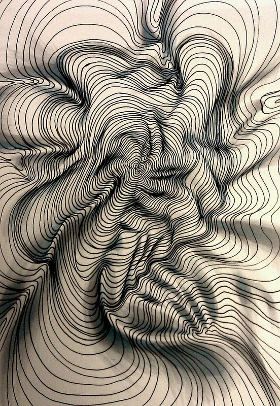 Drawn line art Line contoured 25+ ideas Textural