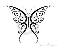 Drawn butterfly design drawing Butterfly Inspiration Drawing SpiderPic Royalty