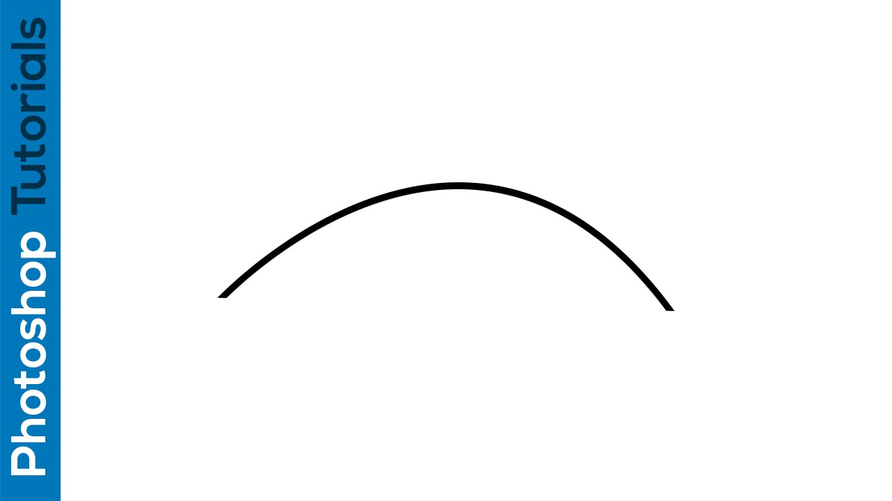 Drawn road curved line In curved How create Adobe