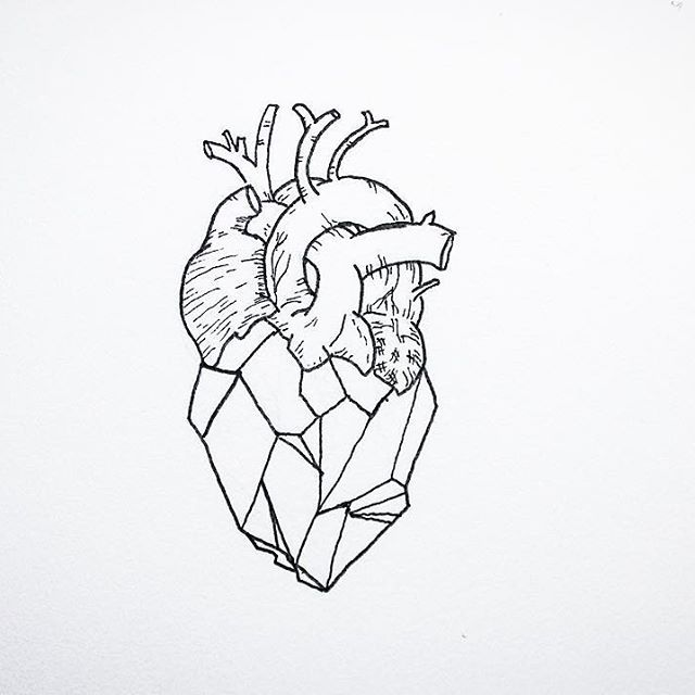 Drawn hearts simple art Doodle 25+ A on Pinterest