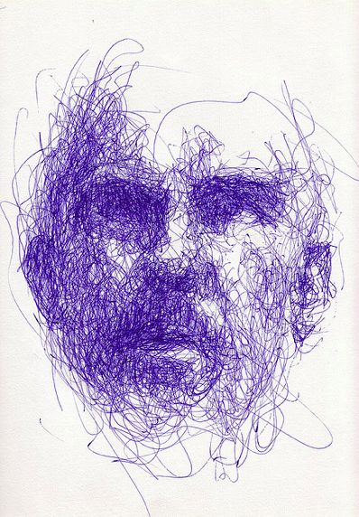Drawn portrait line drawing Idea 358 Pinterest best Line