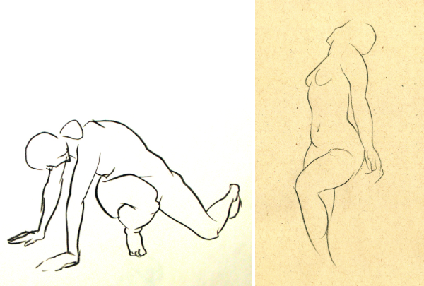 Drawn figurine motion Figure Drawing Craftsy Tips: to