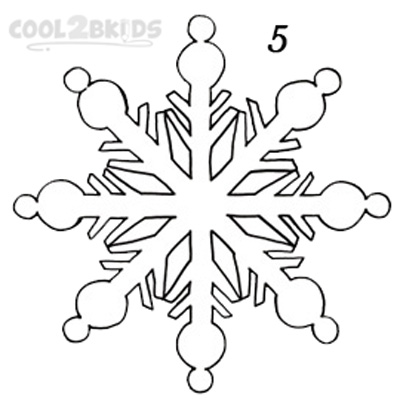 Drawn snowflake small Cool2bKids Step To Draw Snowflake