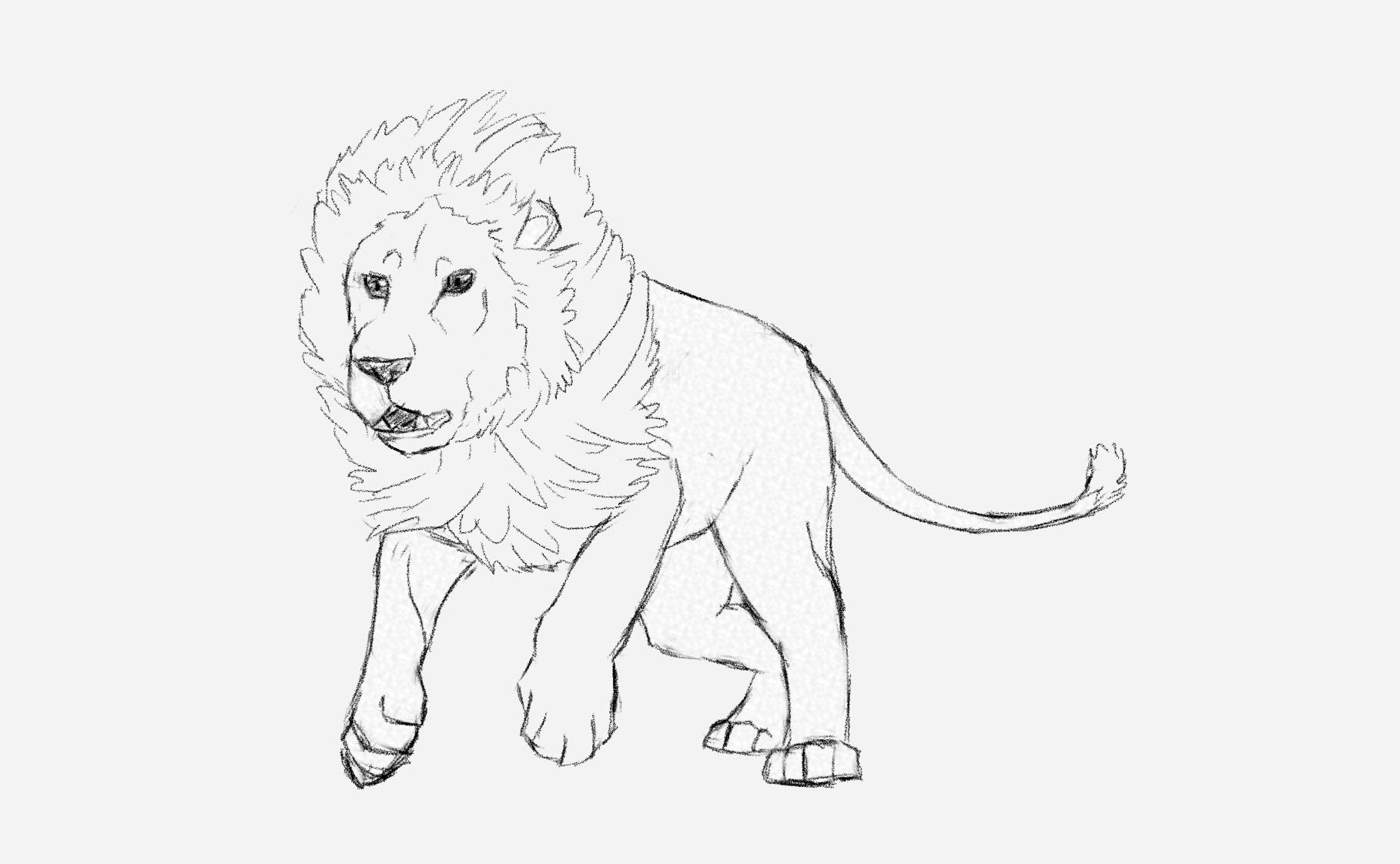 Drawn hunting cheetah To a to How Tutorial