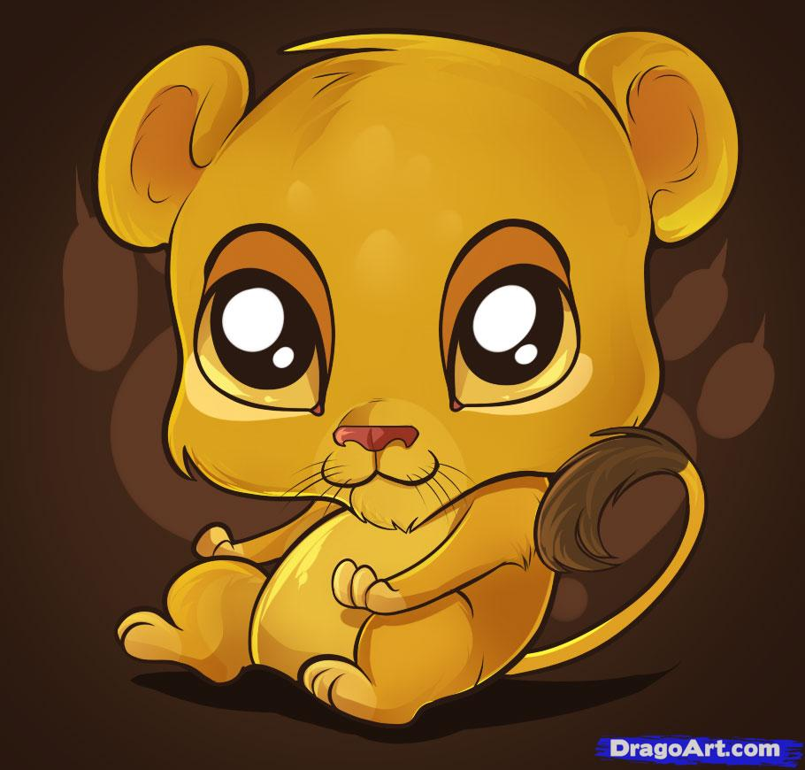 Drawn rodent lion Safari How by Animals Lion
