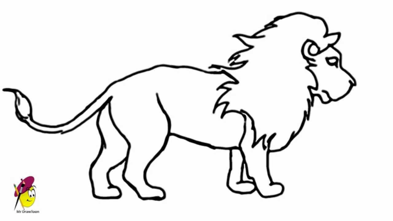 Lion clipart easy #11