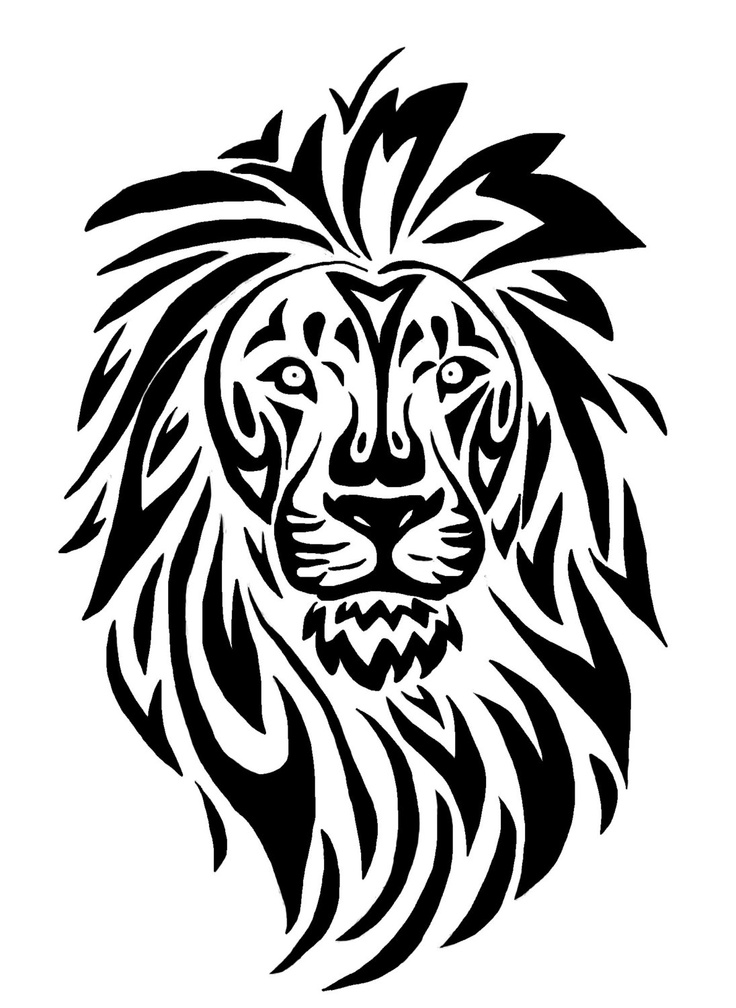 Mountain Lion clipart tribal #6