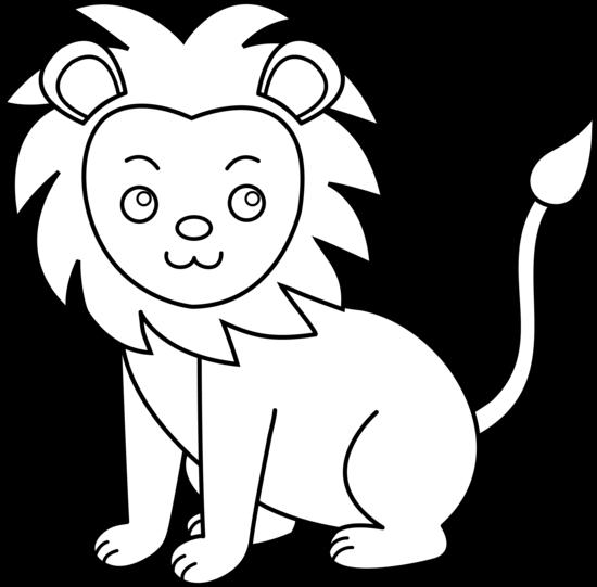 Lion clipart easy #10