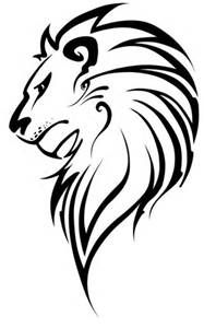 Drawn simple lion Best on Drawing drawing Images