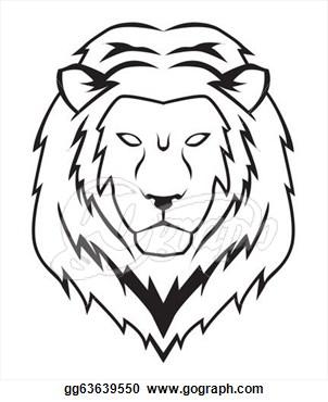 Lion clipart easy #9