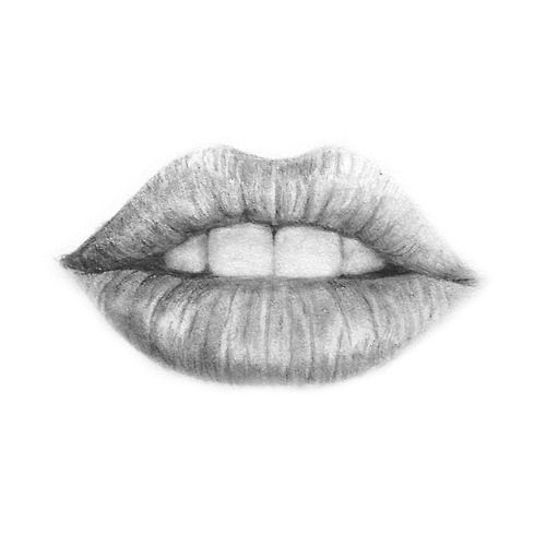 Drawn pice lip Lips on lips ideas Best