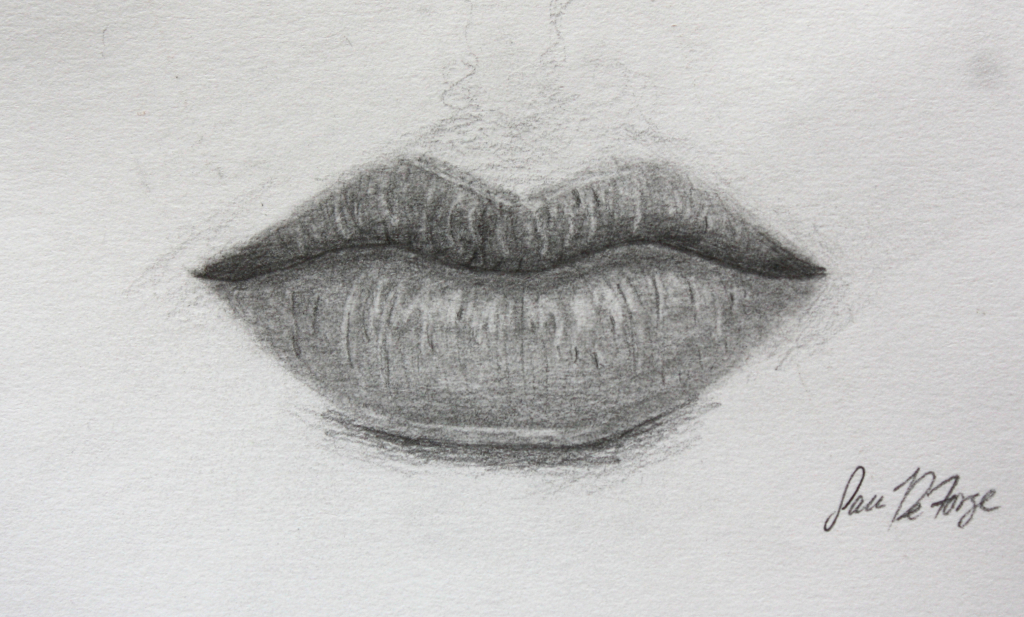 Drawn lips Art Lips Art Realistic Lips
