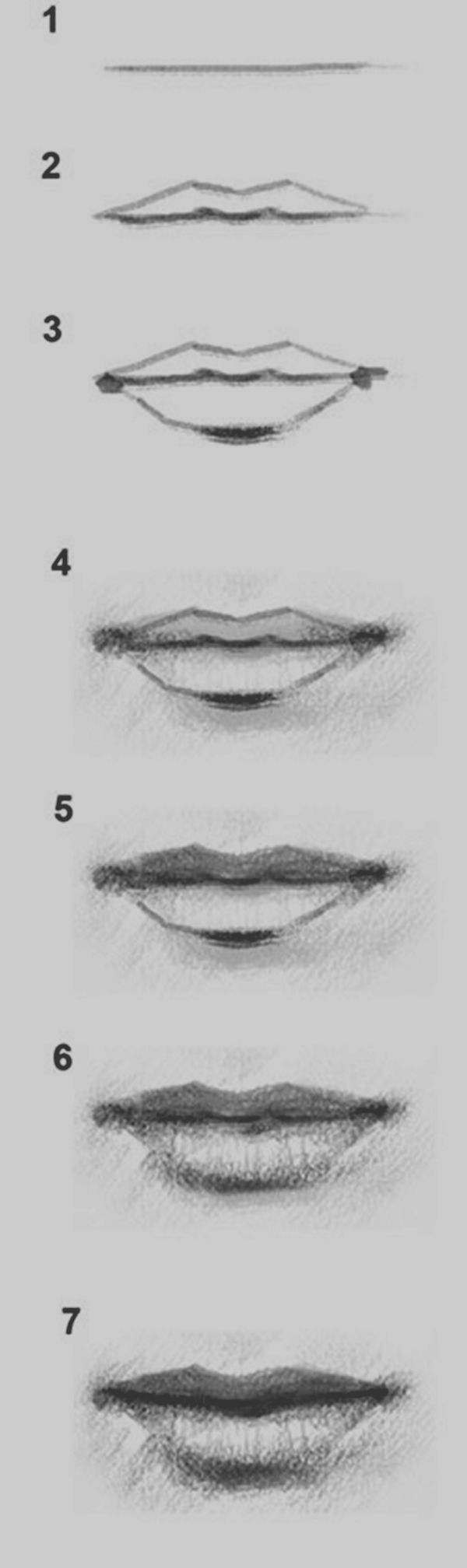 Drawn pice lip Drawings Practice Easy To Pinterest