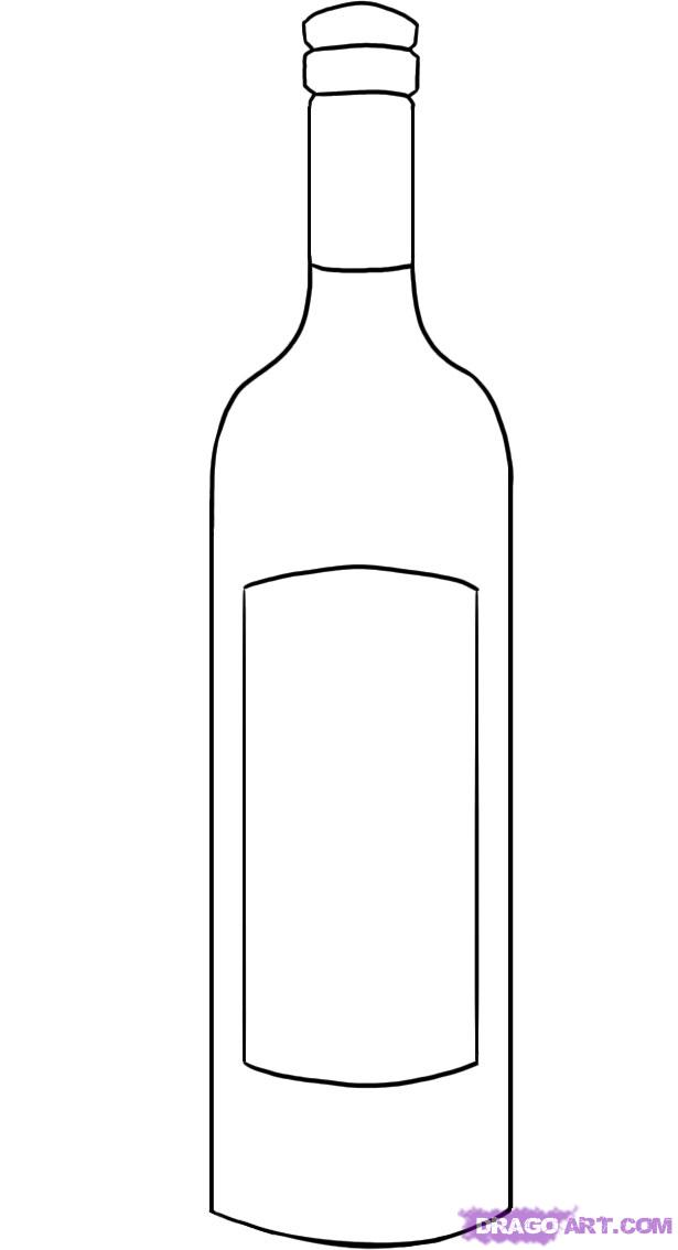 Drawn beer liquor Bottle a Pop by Draw