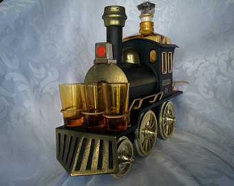Drawn liquor Vintage decanter Horse Horse Decanter