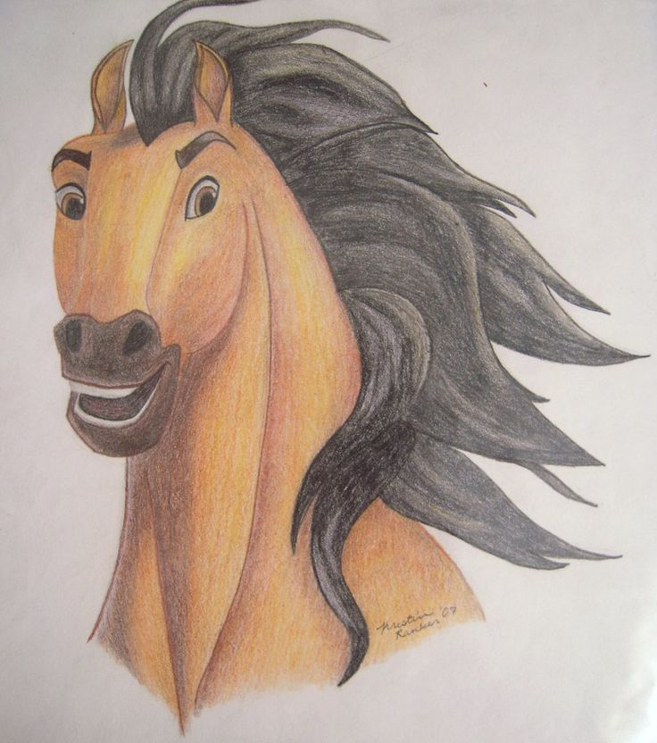 Drawn spirit easy Disney Pinterest about the stallion