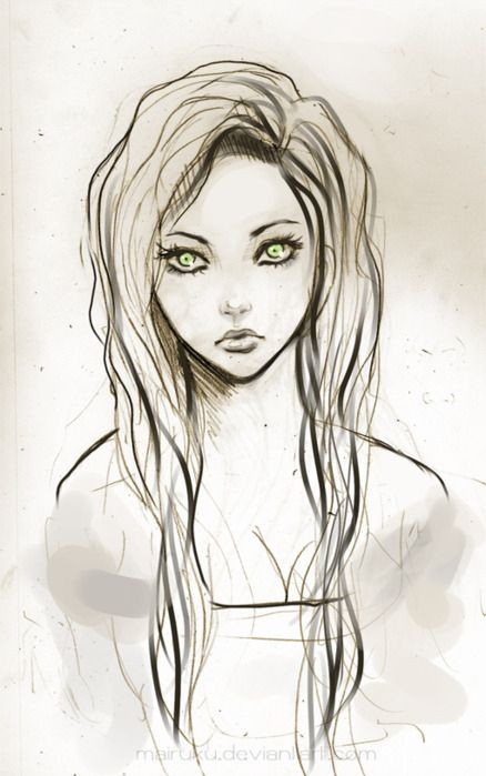 Drawn little girl teenager Best Pinterest 25+ girl drawing