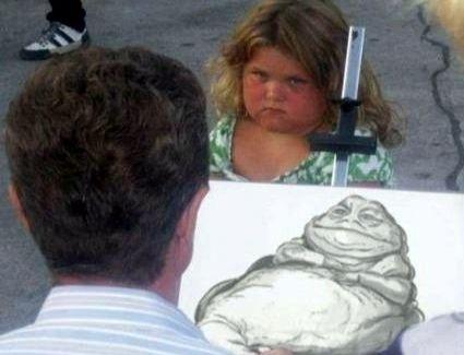 Drawn little girl female Pro on a images #arthumor