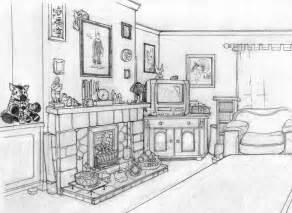 Drawn living room 22gif living A drawing Living