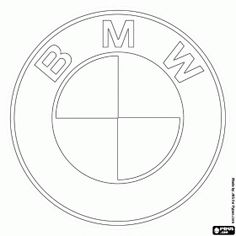 Drawn bmw bmw logo BMW logo rice from paper
