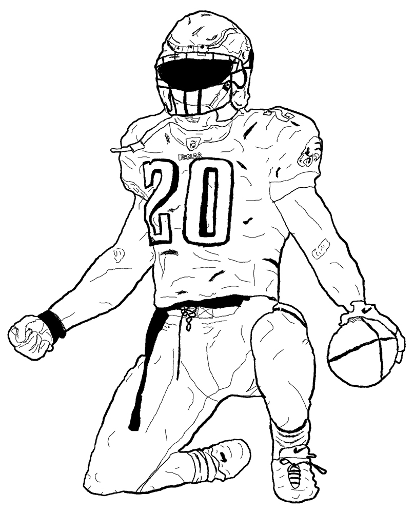 Drawn football coloring page nfl Coloring Archives With Best patriots