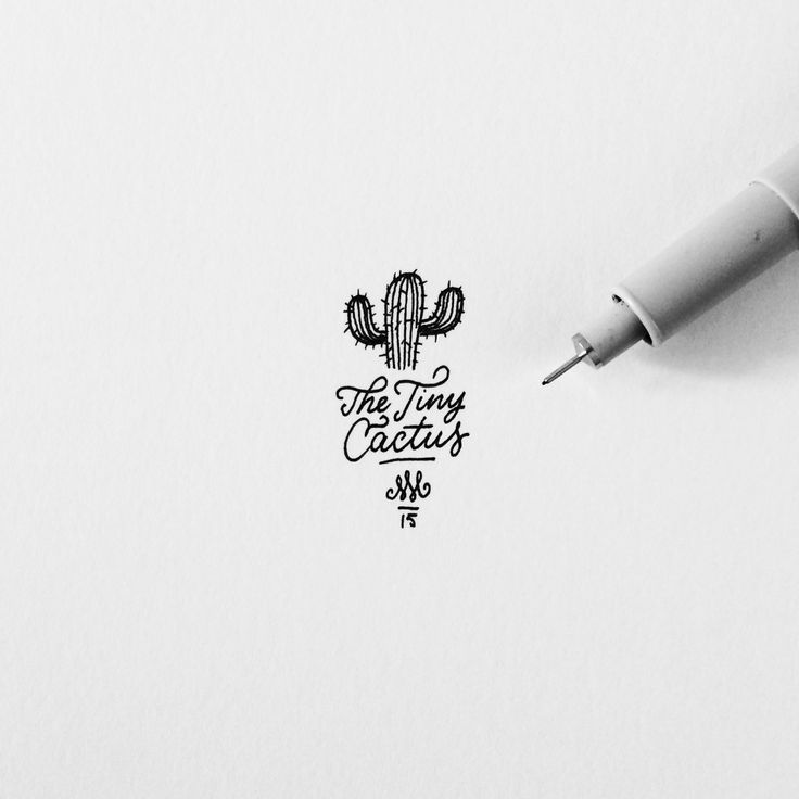 Drawn logo This Branding / Pinterest Hand