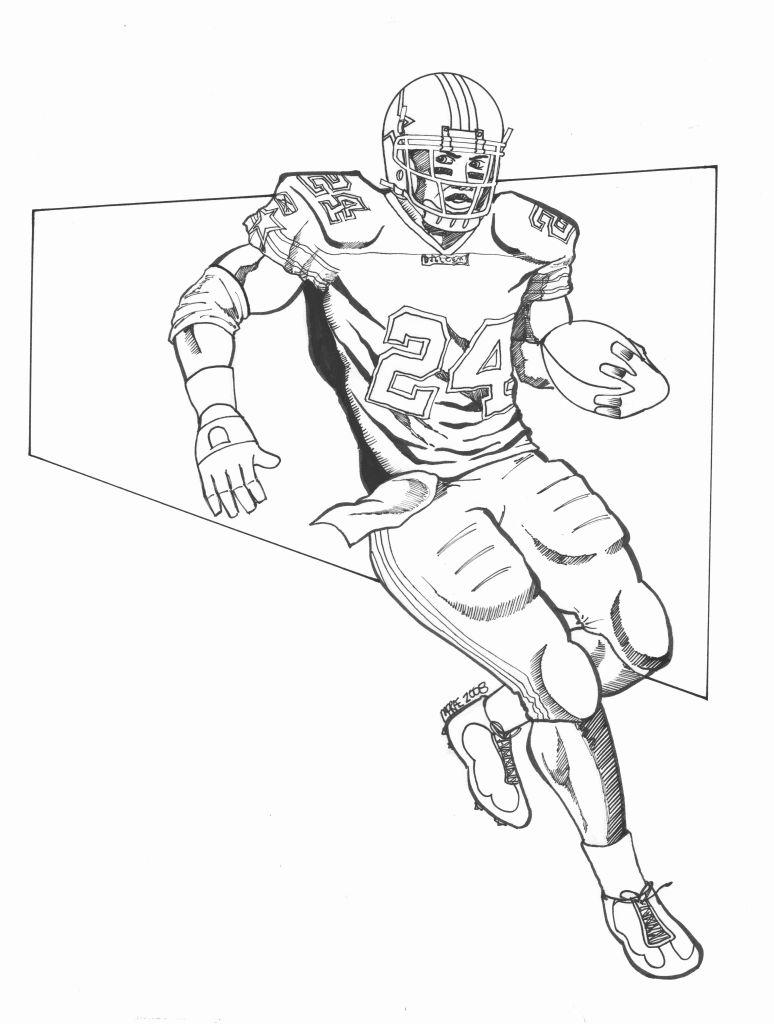 Drawn football nfl football Redskins Sports Pinterest Nfl Player
