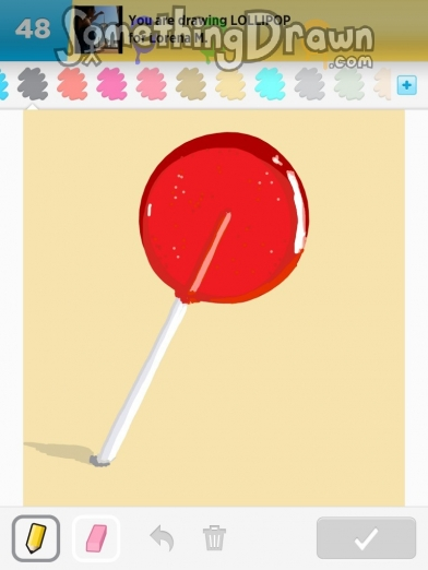 Drawn lollipop Draw lollipop com SomethingDrawn by