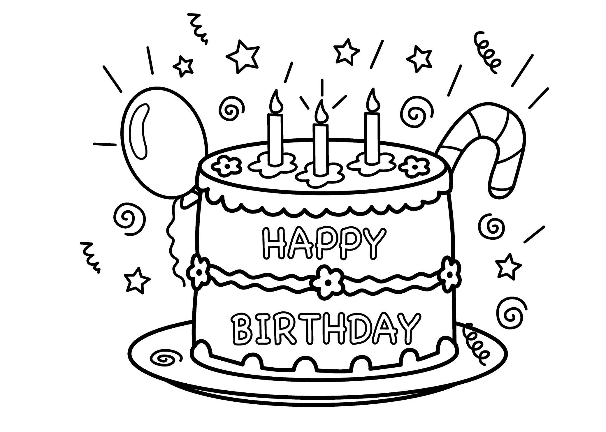 Color clipart birthday Happy 1361 Birthday 8 Lollipop