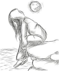 Drawn lonely Drawings sad More  Sad