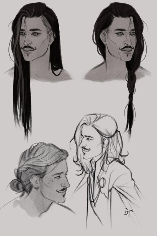 Drawn long hair Hair don't If life ideas