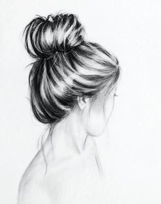 Drawn ballerine hair Someday this Draw draw nicely