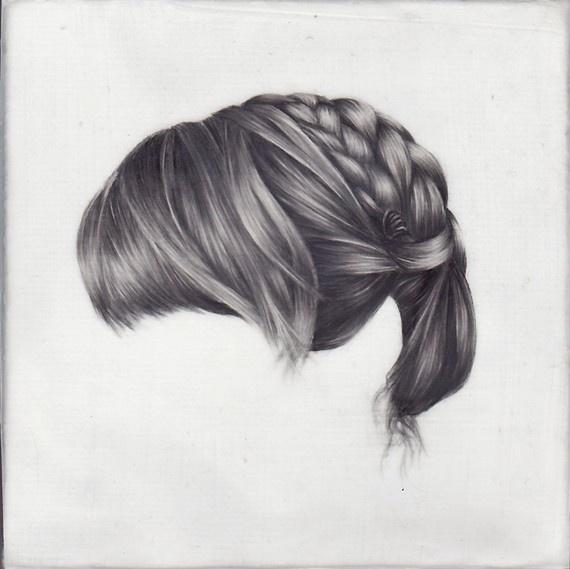 Drawn braid art hair On best Pin this on
