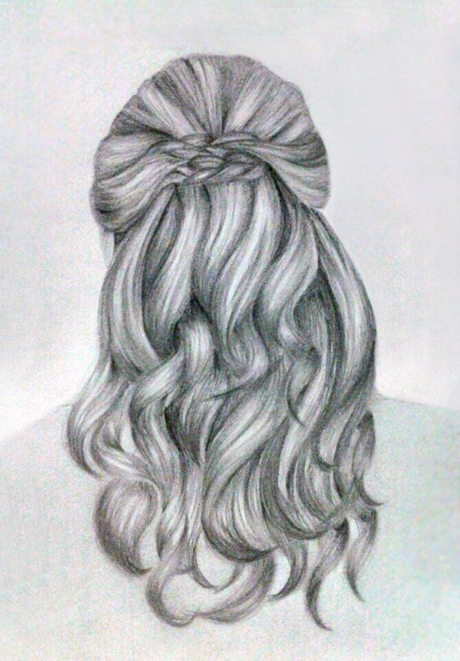 Drawn braid hipster Braid drawing Pinterest best and