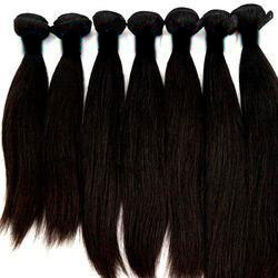 Drawn long hair straight Wholesale Hair Indian Bulk Hair