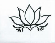 Drawn lotus  I lotus drawingsof drawing