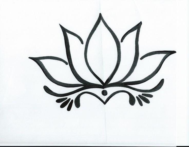 Drawn lotus Ascending drawing Pinterest 25+ Lotus