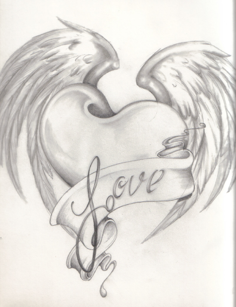 Drawn hearts love heart Quotes For Drawn Quotes For