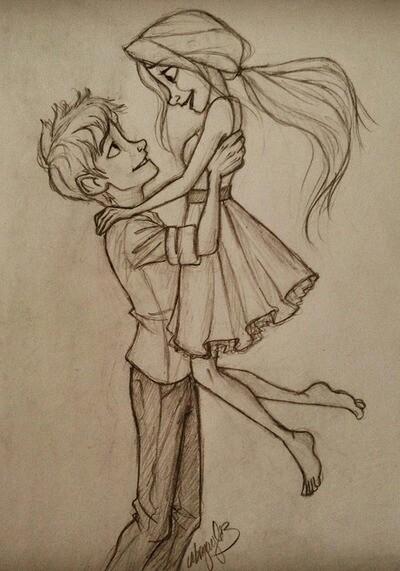 Drawn kiss cartoon Pinterest drawing love couples love