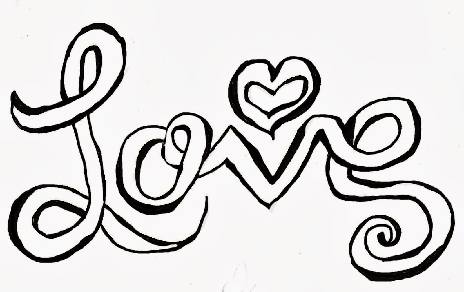 Drawn love The My Images Treasure Christian