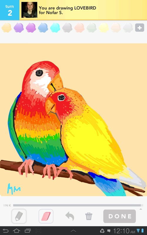 Drawn lovebird Rate! How Sign to Drawings