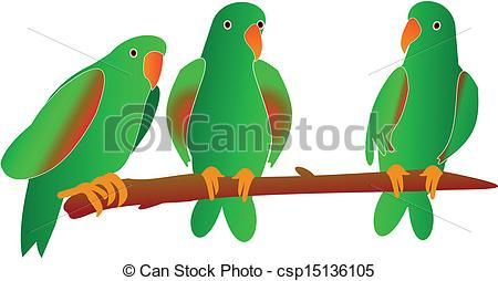 Parrot clipart south america culture Clipart parrots three three