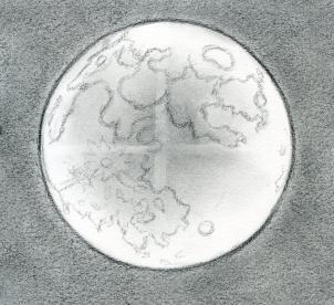 Drawn lunar The Draw Step to