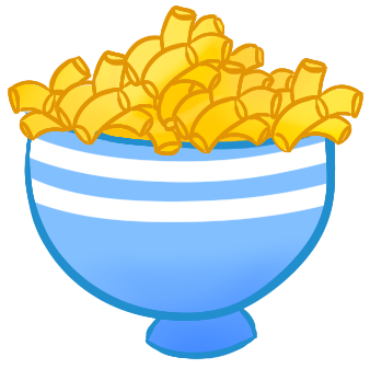 Macaroni clipart block cheese DRAWINGS drawing n mac cheese